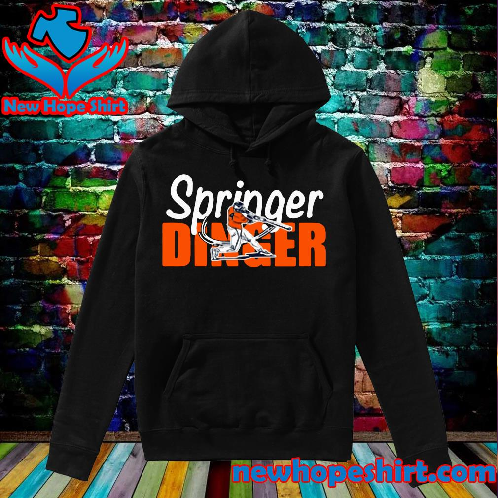 Houston Springer Dinger Fan Shirt Hoodie