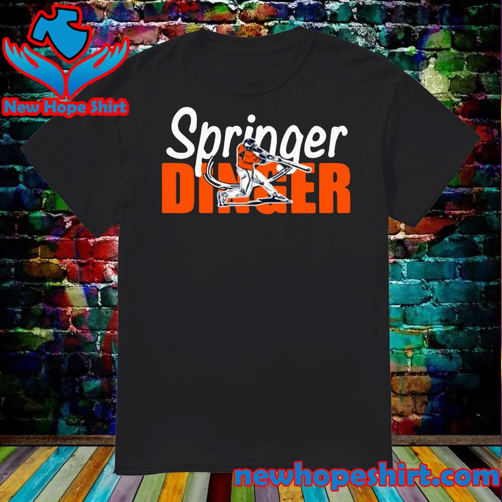 Houston Springer Dinger Fan Shirt