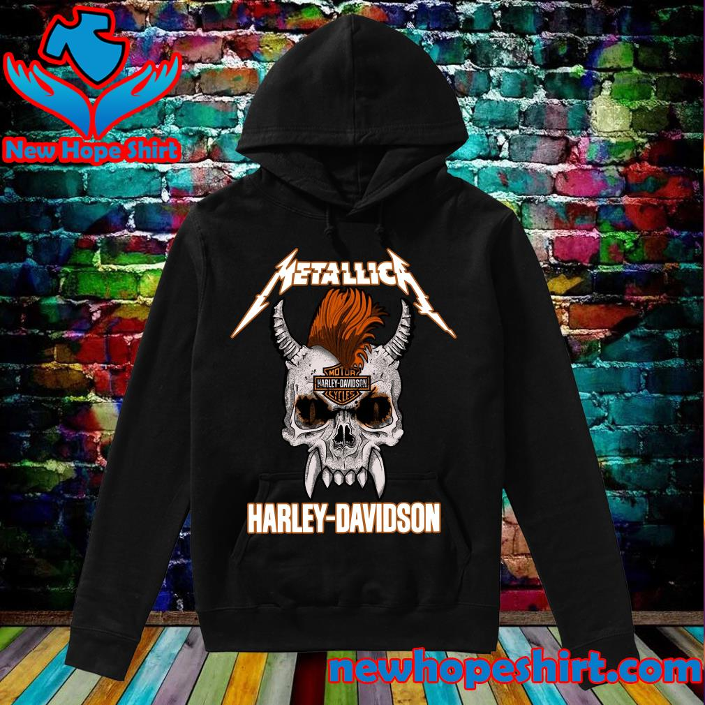 Official Metallica Of Motor Harley Davidson Cycles Shirt Hoodie