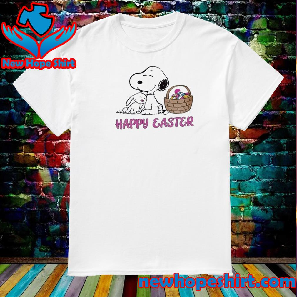 Cute Snoopy Easter Happy Easter Day 2021 Shirt