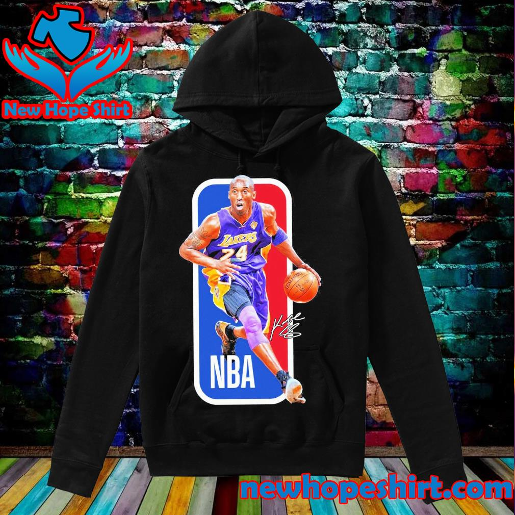 Lakers Kobe Bryant signature NBA poster s Hoodie