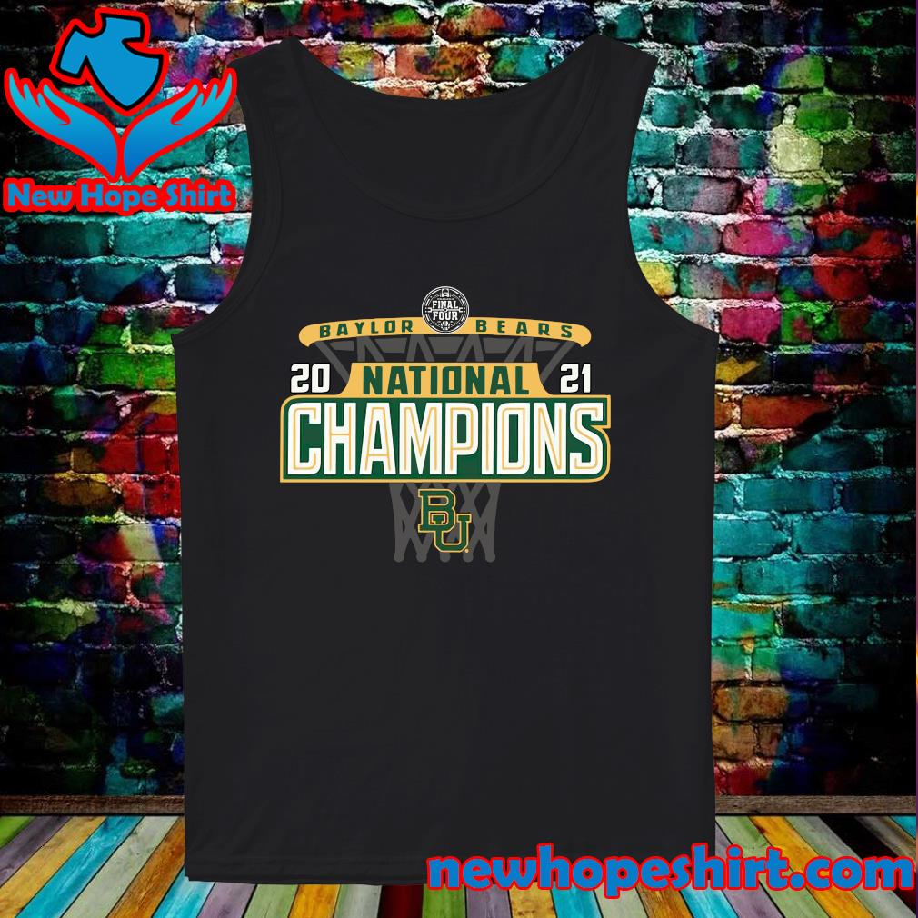 Official Baylor Bears 84 2021 NCAA Men's Basketball National Champions Bracket Shirt Tank-Top