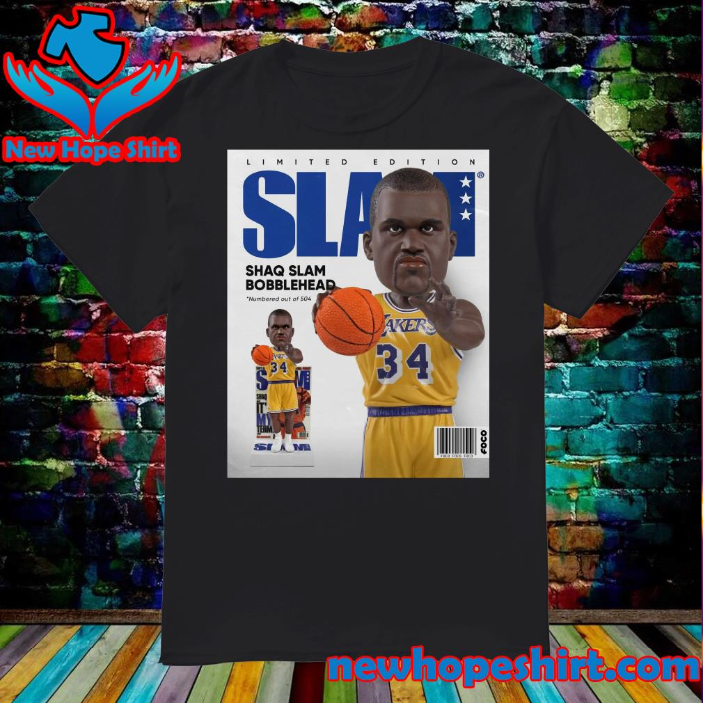 Official SLAM Bobblehead – Shaquille O'Neal Shirt