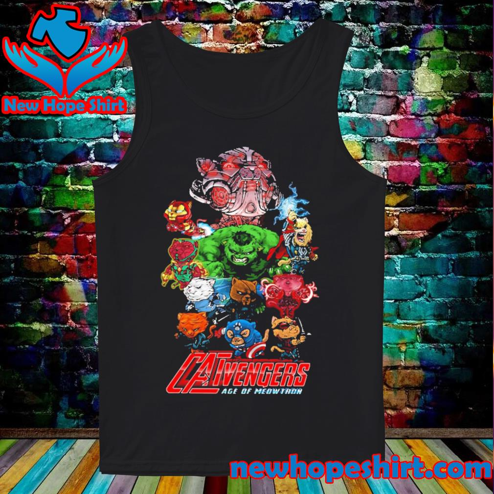 Catvengers Age of Mewthon s Tank-Top