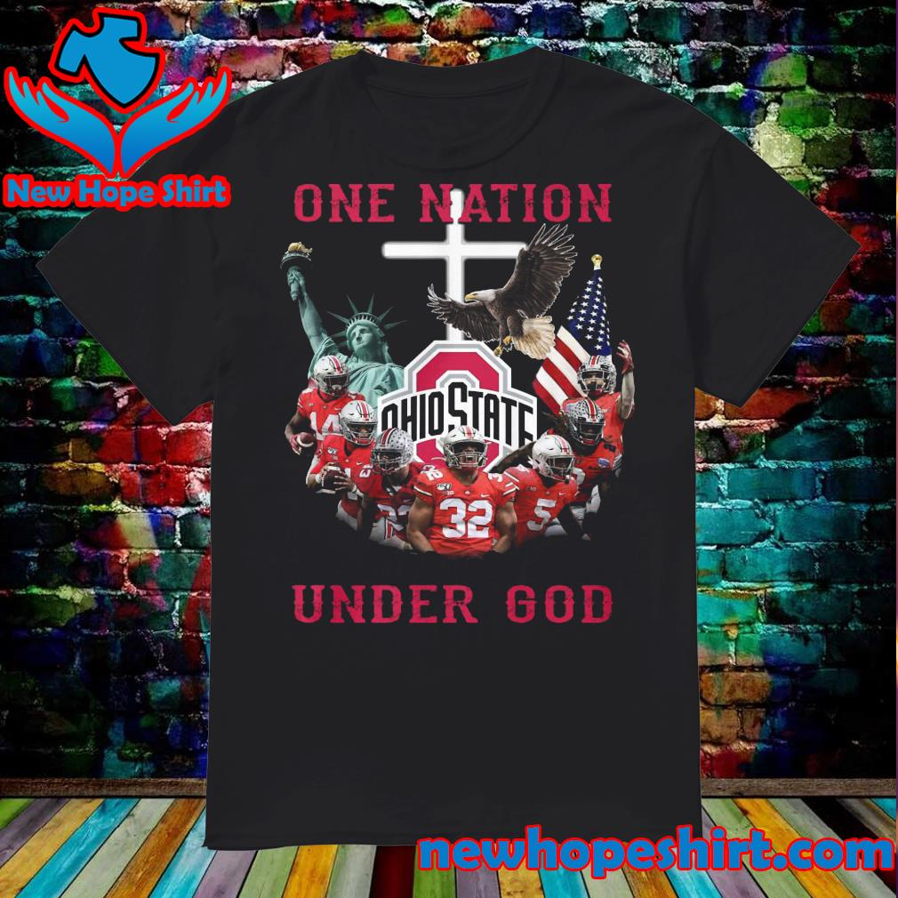 One Nation Ohio State under God shirt