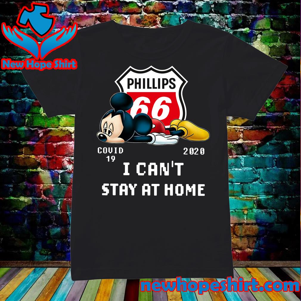 Phillips 66 Mickey Mouse Covid 19 2020 I can't stay at home s Ladies
