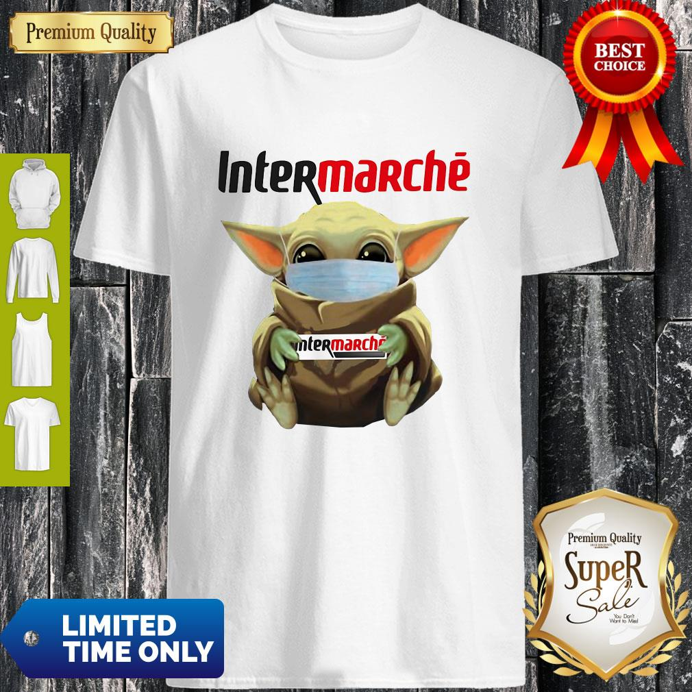 Official Baby Yoda Mask Intermarché Coronavirus Shirt