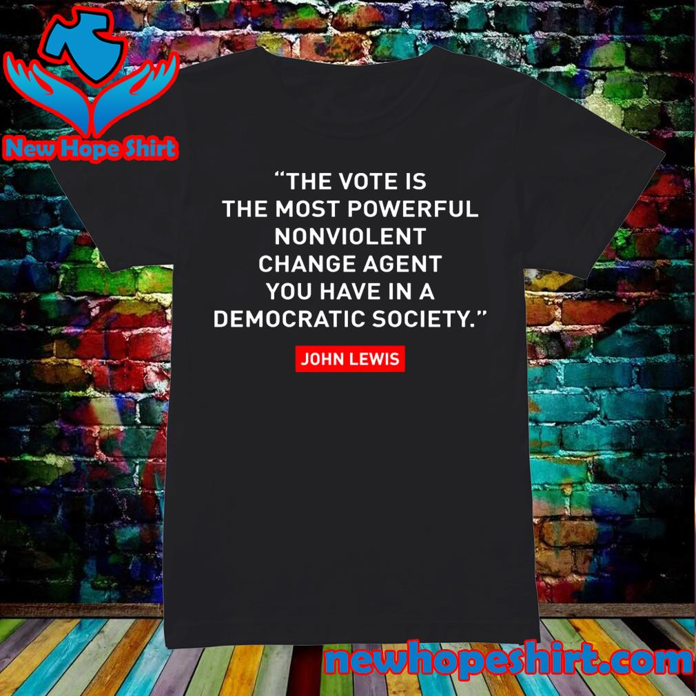 The vote is the most powerful nonviolent change agent s Ladies