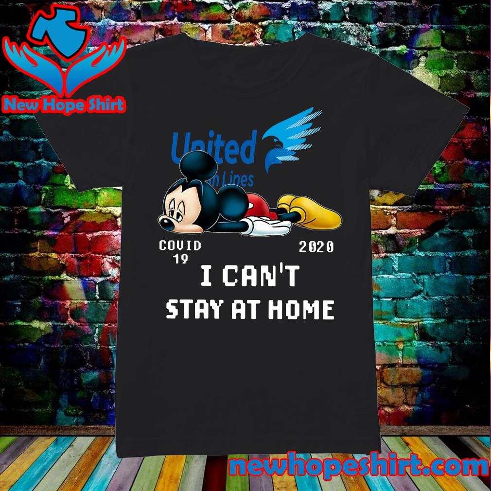 United Van Lines Mickey Mouse Covid 19 2020 I can't stay at home s Ladies