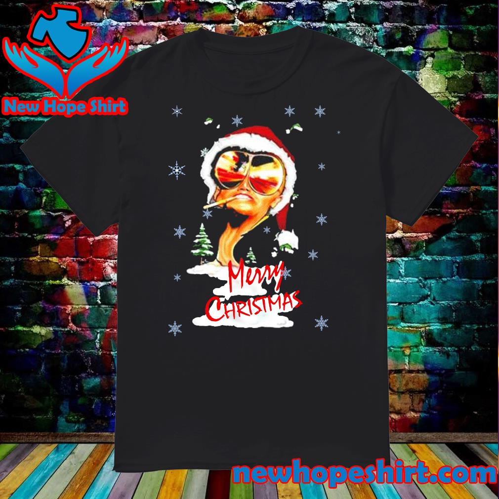 Fear and Loathing in Las Vegas Merry Christmas T-Shirt