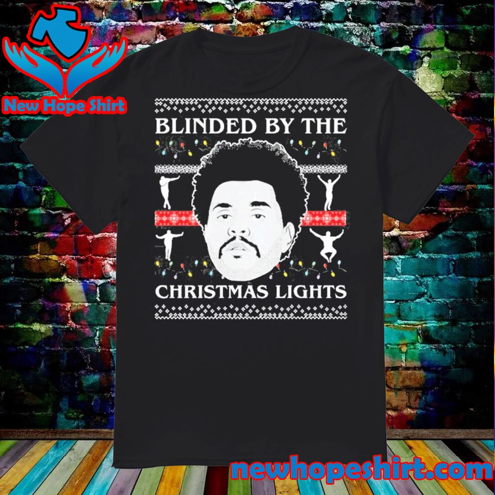 Tcombo blinded by the christmas lights ugly sweater